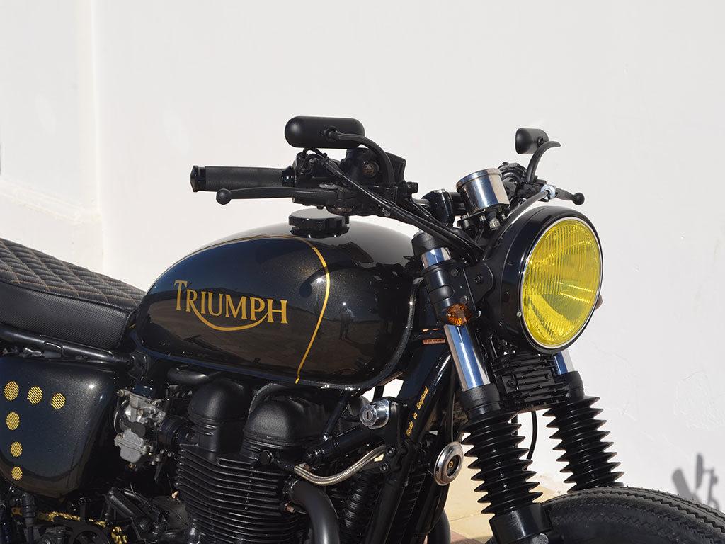 Triumph Bonneville Brat by Lord Drake Kustoms