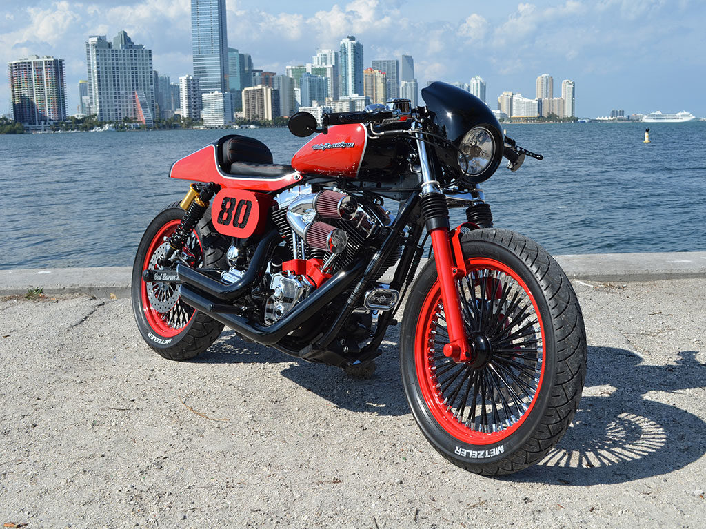 Red Baron Dyna Cafe Racer