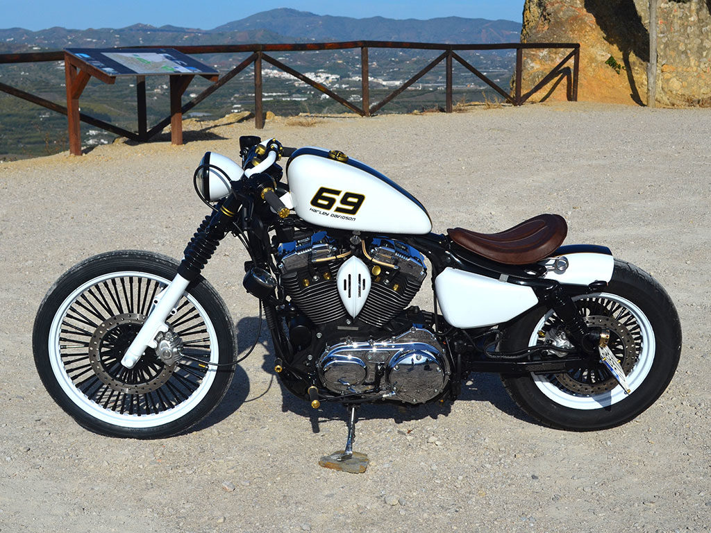 """Sixty-Nine"" a bobber by Lord Drake Kustoms"