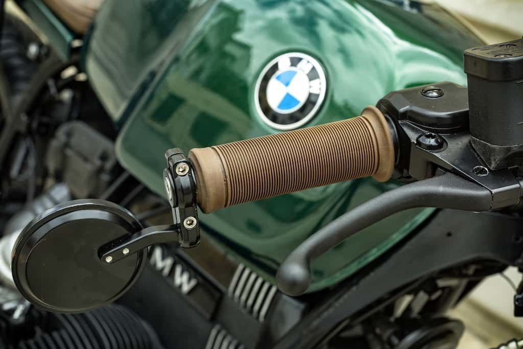 BMW R65 Cafe Racer Green