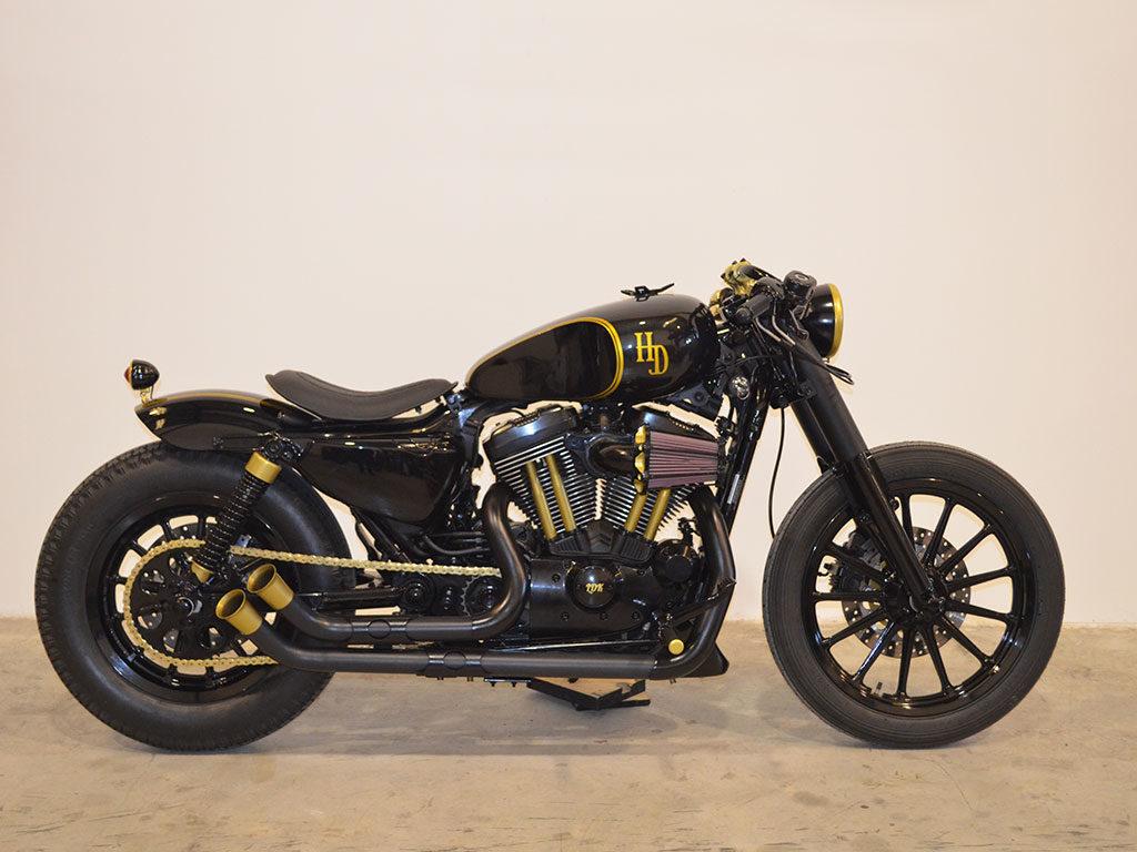 Modified Harley Davidson