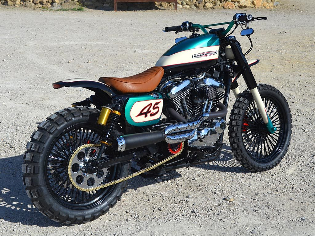 Soulbreaker is a Scrambler by Lord Drake Kustoms