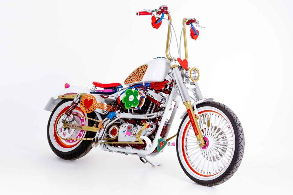 """Harley Agathizada"" by Lord Drake Kustoms and Agatha Ruiz de la Prada"