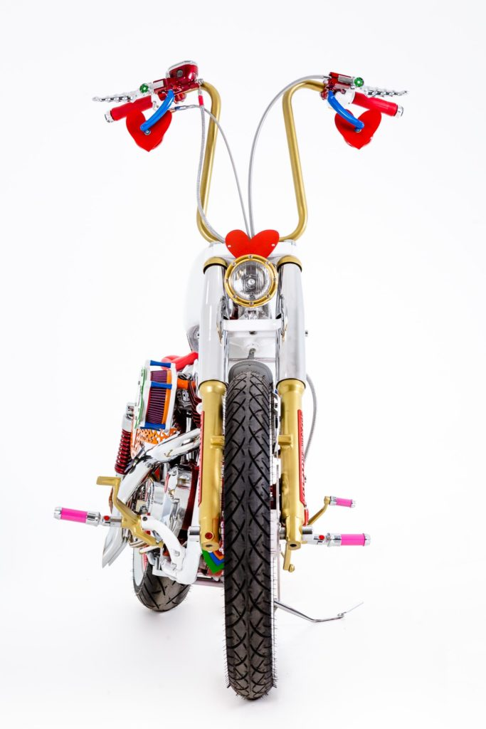 """Harley Agathizada"" by Lord Drake Kustoms and Agatha Ruiz de la Prada"