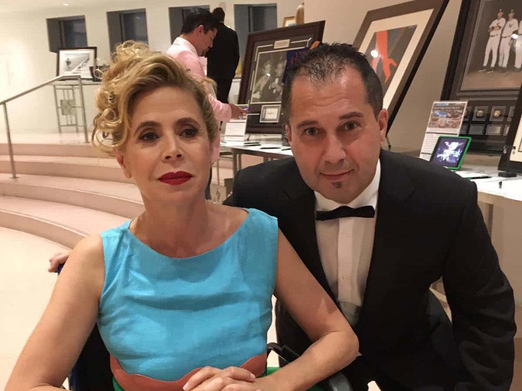Fran Manen with Ágatha Ruiz de la Prada