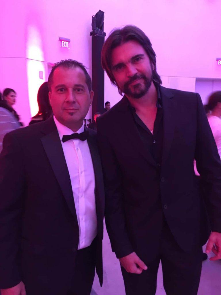 Fran Manen with Juanes