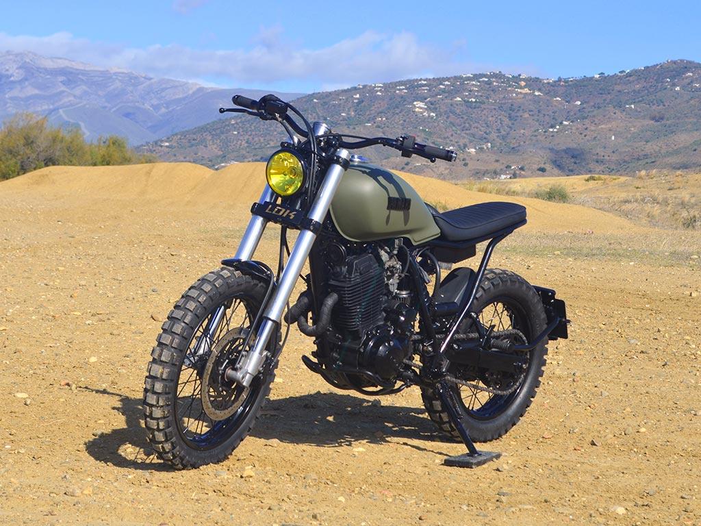 Yamaha XT Scrambler